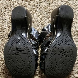 White Mountain Shoes - 3 for $8.00 Black Wedges